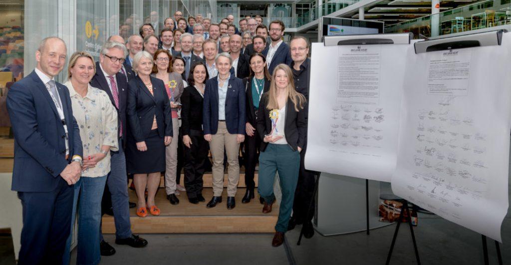 DecarbHeat iniciatyva – nulinė CO2 emisija šildymo ir vėsinimo sektoriuose iki 2050 metų