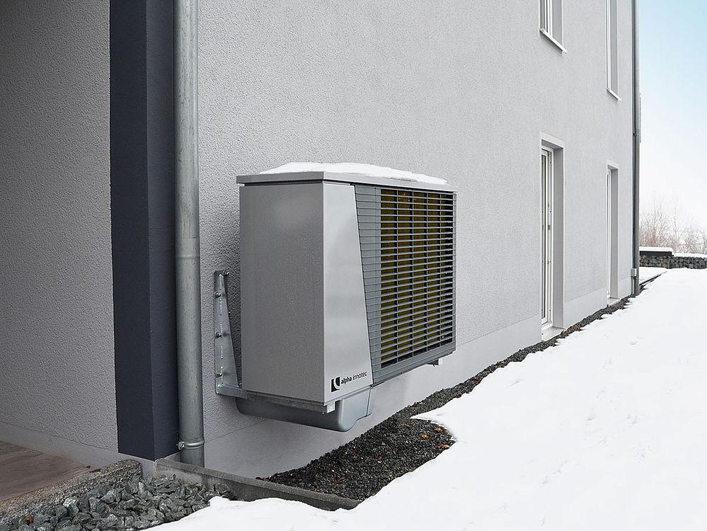 alpha innotec bestseleris - šilumos siurblys oras/vanduo LWD