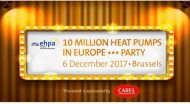 10 milijonų šilumos siurblių Europoje