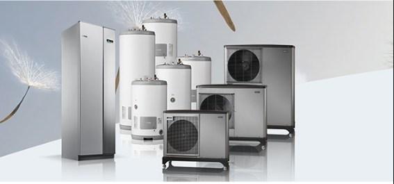 NIBE ištraukiamojo oro šilumos siurbliai – daugiabučiams, komerciniams pastatams ir pramonės įmonėms