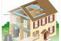 Energetiškai efektyvi šildymo ir vėsinimo sistema su šilumos siurbliu