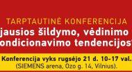 """Tarptautinė konferencija """"Naujausios ŠVOK tendencijos"""""""