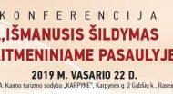 """Konferencija """"IŠMANUSIS ŠILDYMAS SKAITMENINIAME PASAULYJE"""""""
