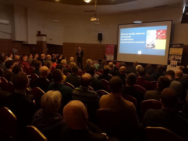 """Konferencija """"Išmanusis šildymas skaitmeniniame pasaulyje"""" pritraukė virš 100 dalyvių"""