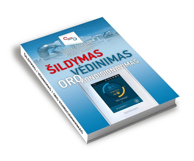 """Į latvių kalbą verčiama knyga """"Šildymas, vėdinimas, oro kondicionavimas"""""""