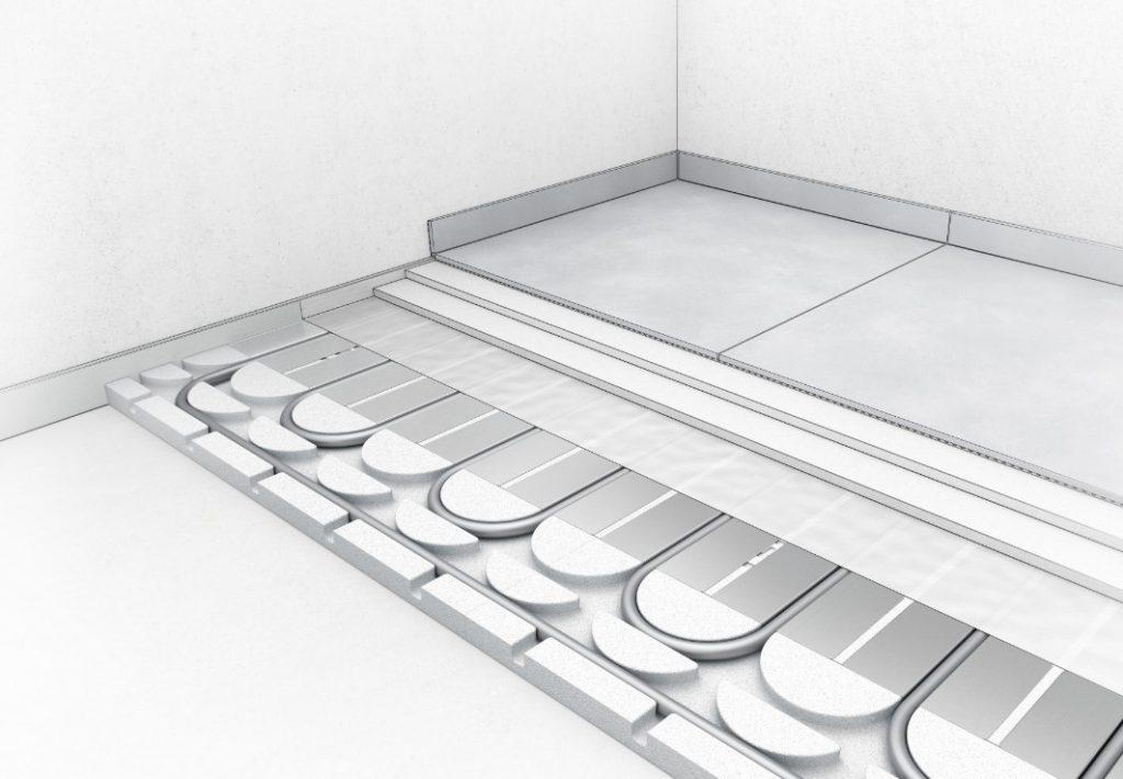 Efektyvus grindinis šildymas