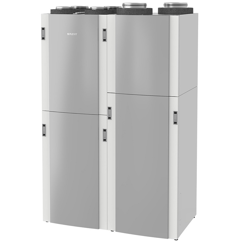 Flexit Econordic red Apjungtas namų vėdinimo, šildymo ir karšto buitinio vandens paruošimo sprendimas