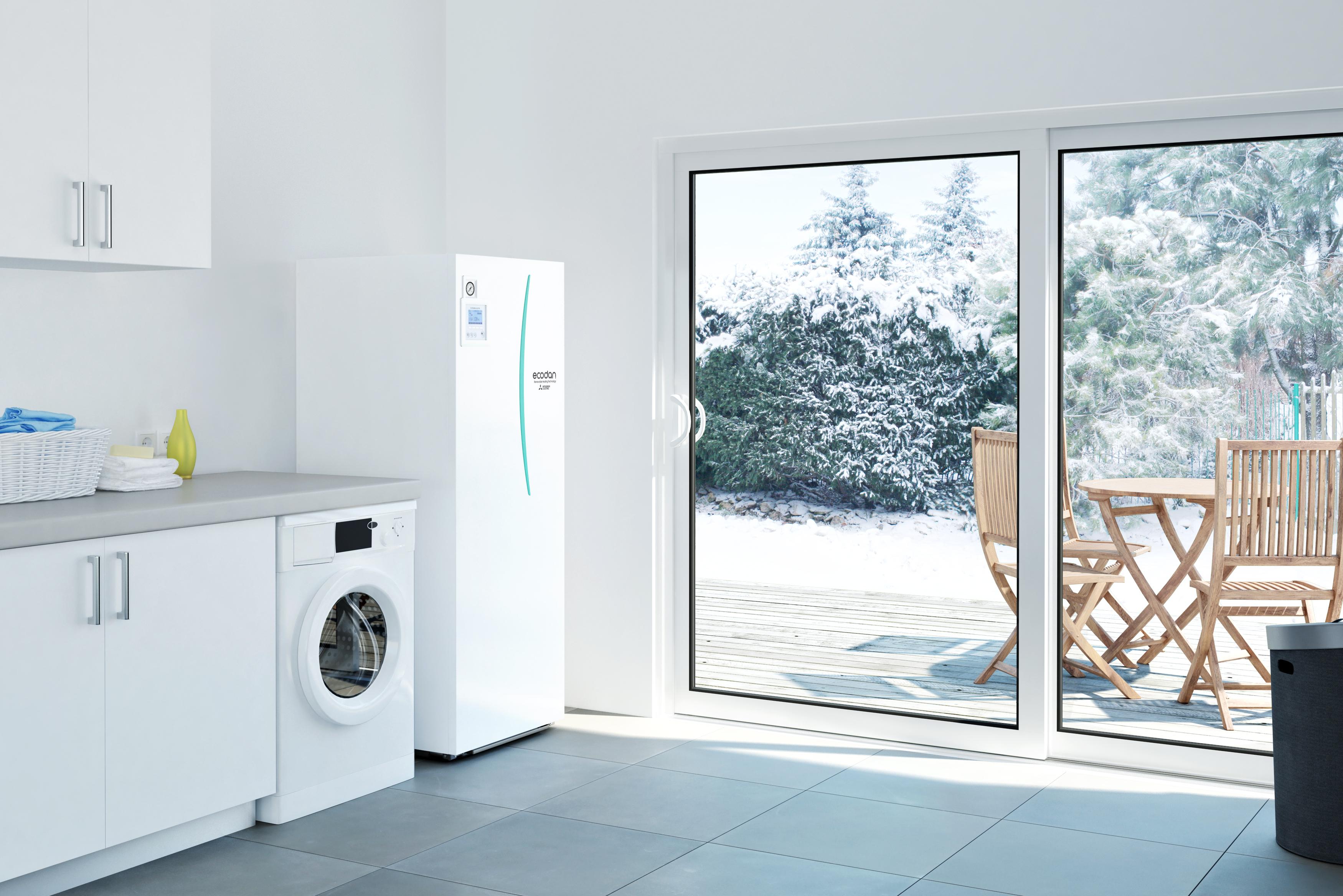 Taupykite su naująja Ecodan Next Generation oras-vanduo šildymo sistema!