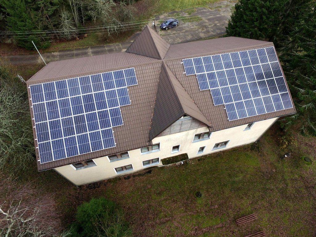 Valstybinių parkų direkcijos naudoja saulės energiją