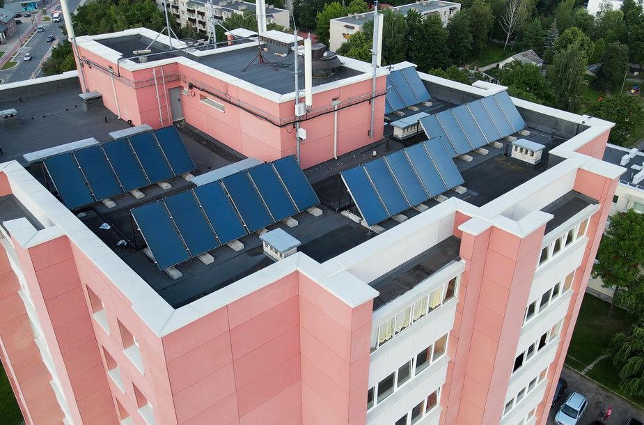 Daugiabučių gyventojai skatinami įsidiegti atsinaujinančius energijos šaltinius