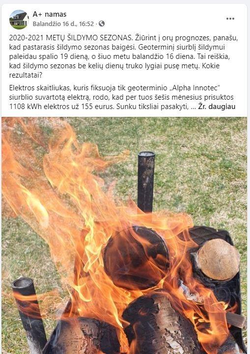 geoterminis fb Neįprastą tinklaraštį rašantis vilnietis: geoterminis šildymas – vienas geriausių mano sprendimų