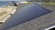 Ar ant pastato stogo sumontuota saulės elektrinė tampa pastato dalimi?
